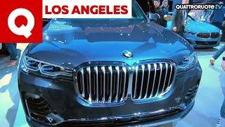 La nuova BMW X7 debutta al Salone di Los Angeles