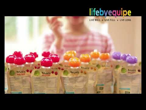 Healthy Fruity Jelly Juice Snack For Children by Naturally