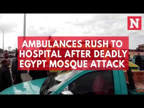 Graphic video shows aftermath of deadly Egypt mosque attack