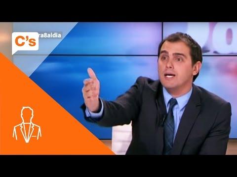 Albert Rivera vs Pilar Rahola en 8 TV. La sensatez frente al barullo