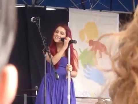 "Ariana Grande ""Taking Chances"""