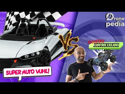 CARRO DE RC VS SUPER AUTO JLB Cheetah VS super auto VUHL 05 ¿Quién ganara?  |DRONEPEDIA