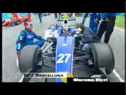 Giacomo Ricci Gp2 Barcellona 2010