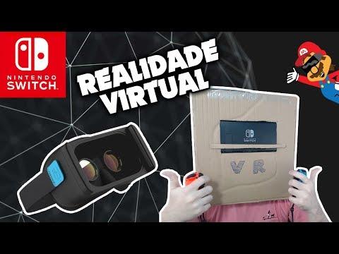Hackers Descobrem Modo De REALIDADE VIRTUAL No Nintendo Switch