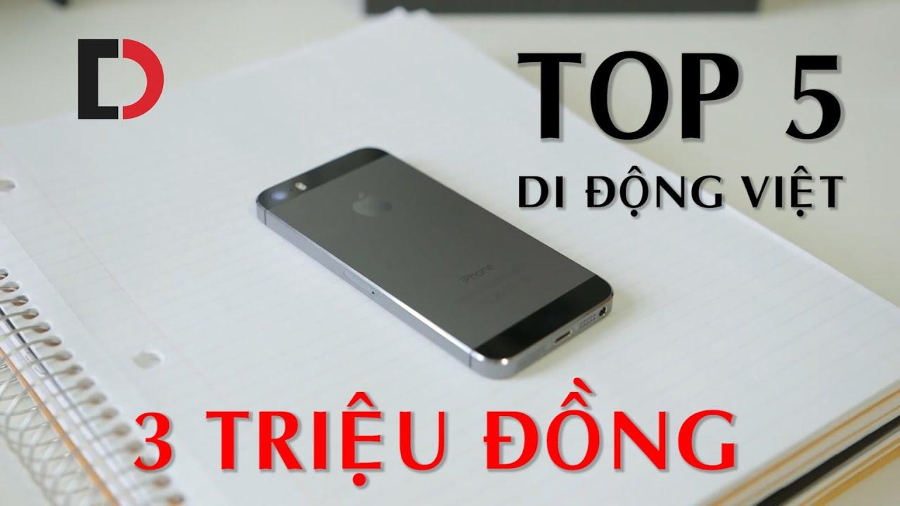 Với 3 triệu đồng, thì mua điện thoại gì tại Di Động Việt?
