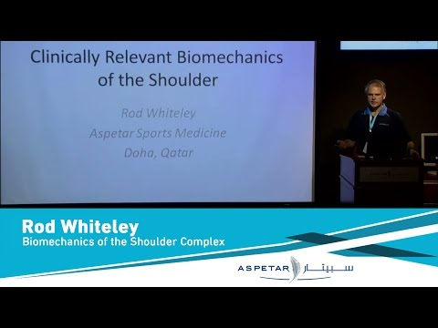 Biomechanics of the Shoulder Complex by Rod Whiteley