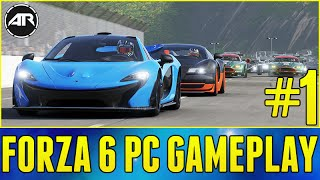 Forza 6 Apex Gameplay : NEW CAREER MODE!!! Part 1 (Forza 6 PC Gameplay)