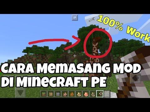 MCPE Indonesia Cara Memasang Mod Di Minecraft PE