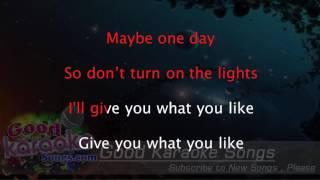 Give You What You Like - Avril Lavigne ( Karaoke Lyrics )