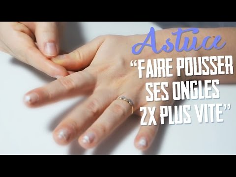 astuces ongles les faire pousser 2x plus vite en un temps record youtube. Black Bedroom Furniture Sets. Home Design Ideas