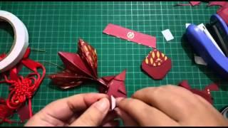 Repeat youtube video Ruth 愛分享【摺紙教學】紅包魚摺紙(吉祥魚)