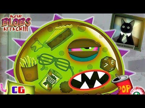Приключение ИНОПЛАНЕТНОЙ СЛИЗИ! Мультяшная игра Tales from Space Mutant Blobs Attack |