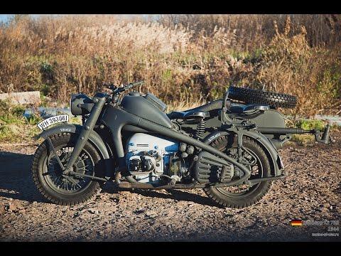 Мото обзор - Zündapp KS 750 (moto review)