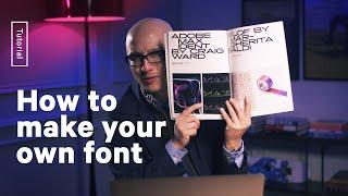 How To Make A Custom Font Using Fontself