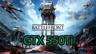 Star Wars: Battlefront 3 Gtx 550ti [60 fps]