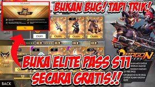 Cara Membuka ELITE PASS S11 Secara GRATIS Di Free Fire!! | Free Fire Indonesia