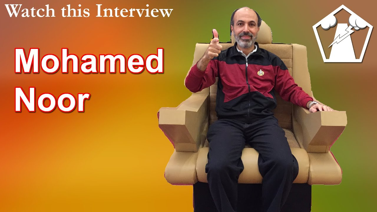 Meet Dr. Mohamed Noor, Dean of Natural Sciences at Duke University/Star Trek Consultant   WTI #70