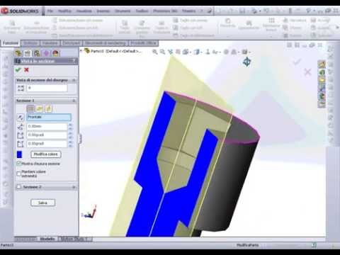 Solidworks Creazione Guidata Fori Su Superficie Circolare