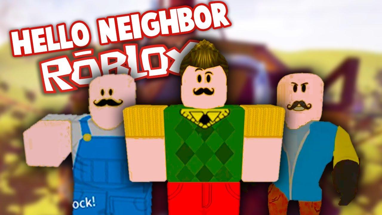 Insane Hello Neighbor Levels In Roblox Hello Neighbor