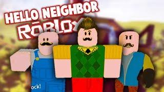 INSANE HELLO NEIGHBOR LEVELS IN ROBLOX | Hello Neighbor Roblox Gameplay (Hello Neighbour Secrets)