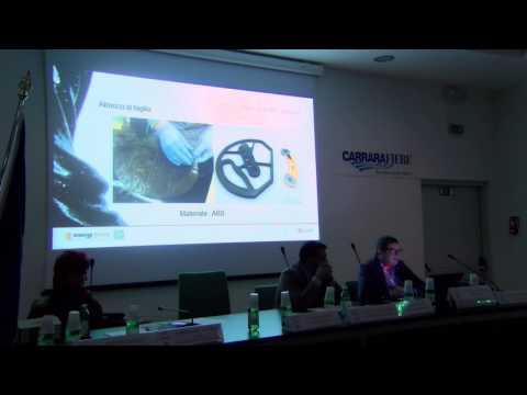 Carrara - 7 Aprile 2016: Convegno Stampa 3D