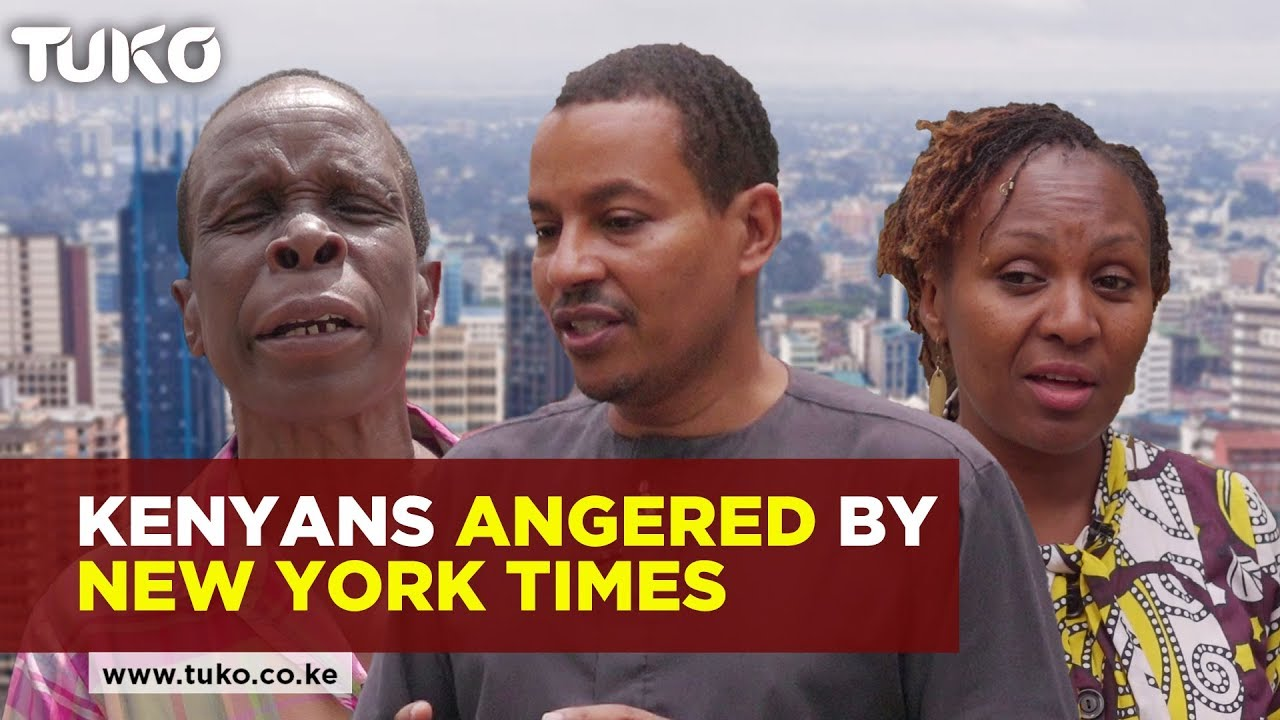 Kenyans Angered by New York Times Coverage of 14 Riverside Attack | Kenya #VOXPOP | Tuko TV
