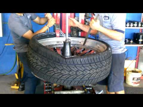 Mountin 32 inch tires