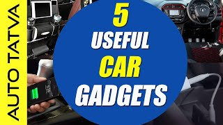Top Tech - Top 5 Useful Tech Gadgets & Accessories Under Rs.1000 For Your Car | Hindi | Auto Tatva