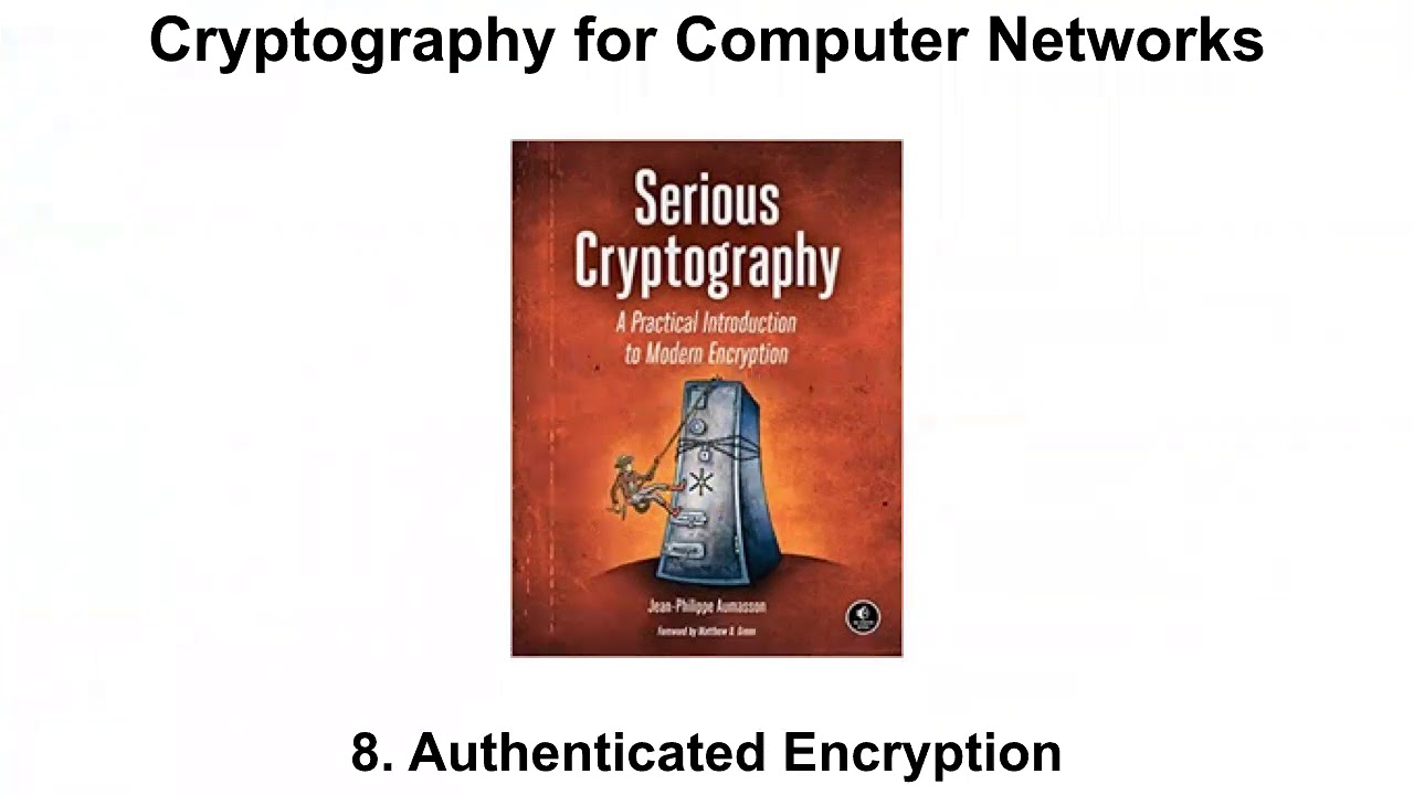 CNIT 141: Cryptography for Computer Networks -- Sam Bowne