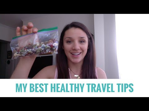 Healthy Travel Tips!! ☀