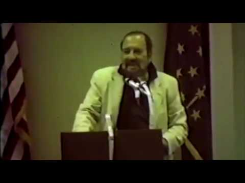 Jean Shepherd at Merrillville Library (with WJOB) 1984