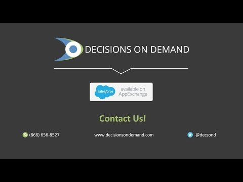 Decisions on Demand -- Complex Lead Assignments Made Simple