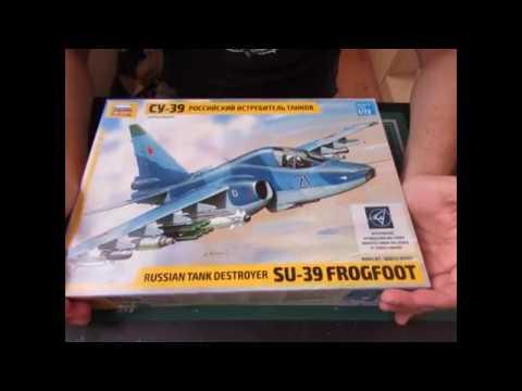 Сборка и окраска самолёта Су-39 - Звезда 1:72 - 7217