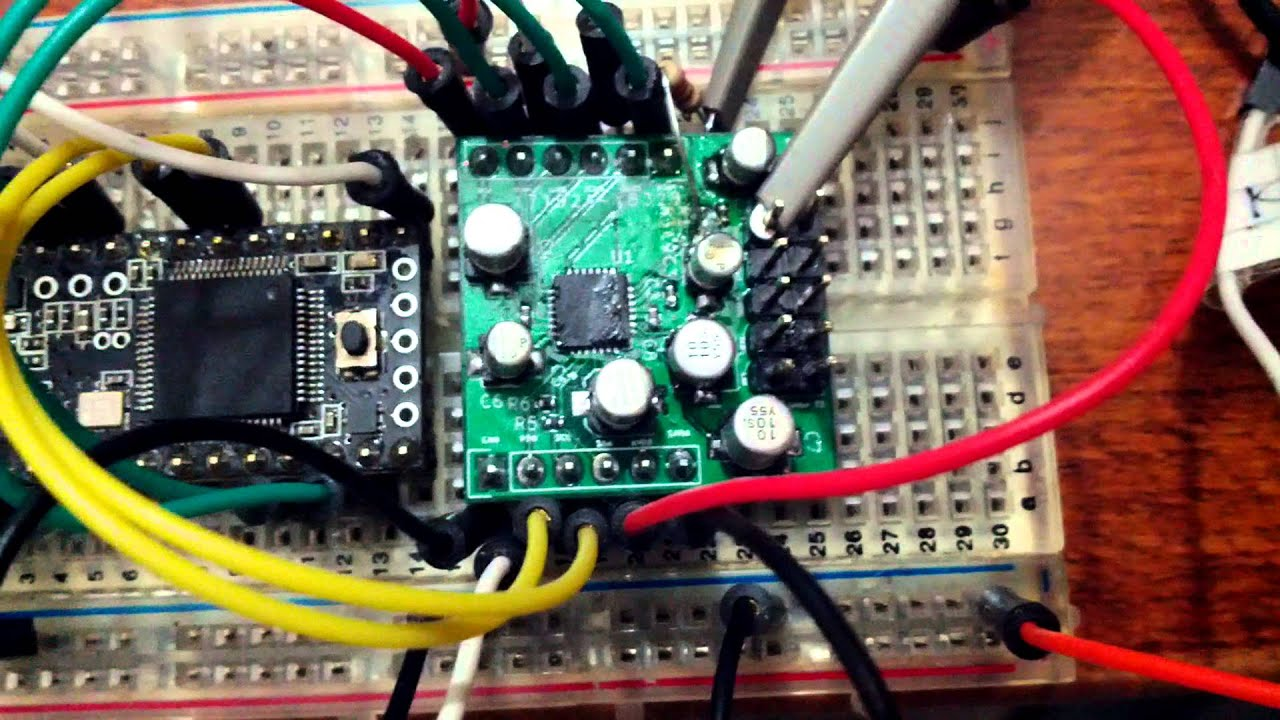 Square Inch Project - HiFi Audio CODEC module working #1 - sine waves on  scope