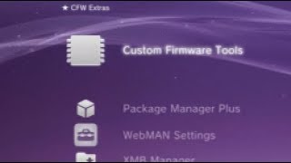 PS3 CFW Extras XMB Category v1.00
