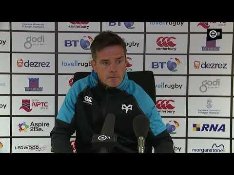 Ospreys TV: Allen Clarke Post Glasgow