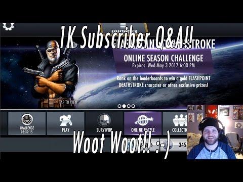 1K Subscriber Q&A Video & Credits Glitch Update!! :-)