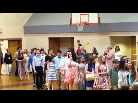 Plymouth South Middle School Graduation