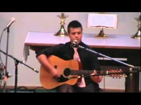 "Noah Barnard Singing ""Collide"" by Howie Day"