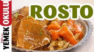 Dana Nuar Rosto Tarifi | Sosu ve Sebzeleriyle Yumuşacık Et Yapımı