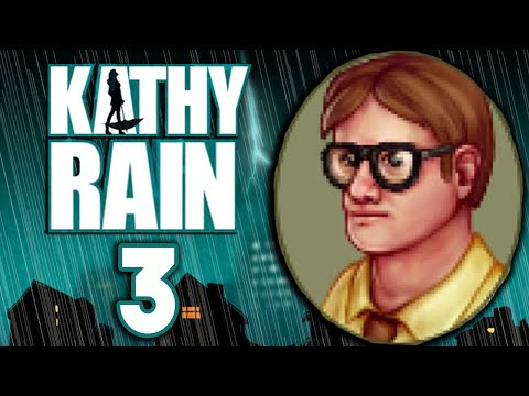 Kathy Rain [3] - I'M A HACKER - Gameplay (Day Two)