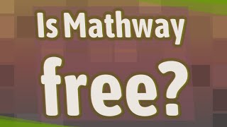 Is Mathway free?