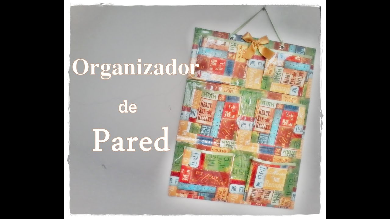 Organizador de pared doovi - Organizador de pared ...