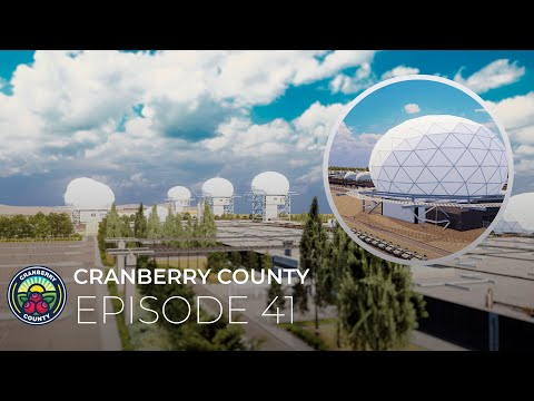 41 - Military Base Part 3 - Radomes - Cities Skylines: Cranberry County  