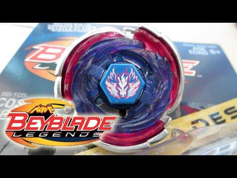 Cosmic Pegasus F:D Beyblade LEGENDS HYPERBLADES Unboxing & Review! - Beyblade Metal Fury/Fight 4D