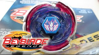 Cosmic Pegasus F:D Beyblade LEGENDS HYPERBLADES Unboxing & Review! - Beyblade Metal Fury/Fight 4D