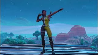 Fortnite *Whiplash Skin* With All MY Emotes