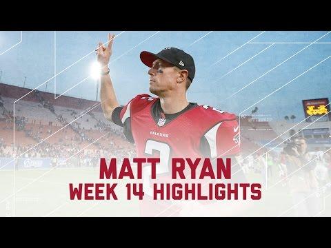 Matt Ryan Throws 3 TDs! | Falcons vs. Rams | NFL Week 14 Player Highlights