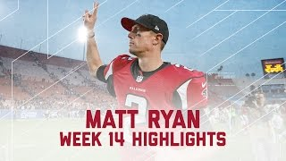 Matt Ryan Throws 3 TDs! | Falcons vs. Rams | NFL Week 14 Player Highlights
