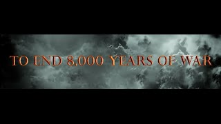 What would you do to end 8,000 years of war?